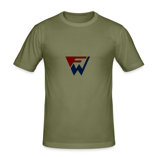 FW Logo - Men's Slim Fit T-Shirt