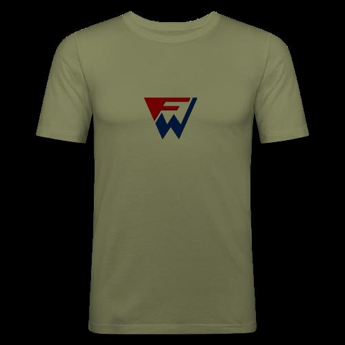 FW Logo - Men's Slim Fit T-Shirt