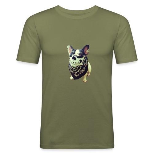 Bandana Dog - Men's Slim Fit T-Shirt