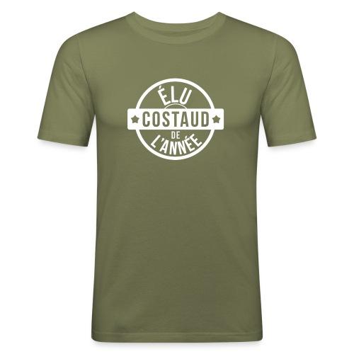 Costaud de l'année - T-shirt près du corps Homme