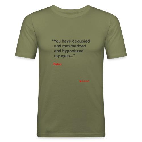 Mesmerized by Ruben - Herre Slim Fit T-Shirt