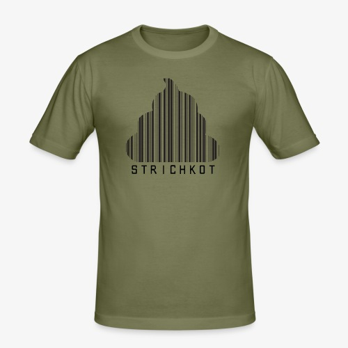 Strichkot - Männer Slim Fit T-Shirt