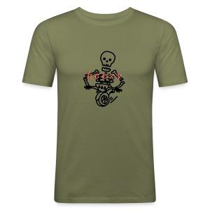 skull scooter - slim fit T-shirt