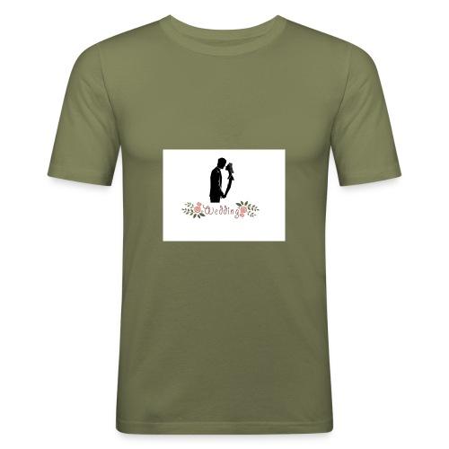 wedding - Camiseta ajustada hombre