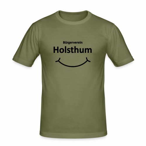 Bürgerverein Holsthum smilye - Männer Slim Fit T-Shirt