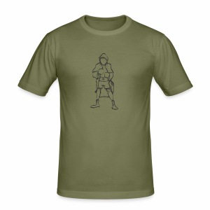 Hero - Slim Fit T-shirt herr