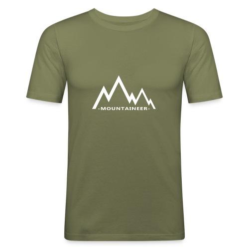mountaineer - Men's Slim Fit T-Shirt