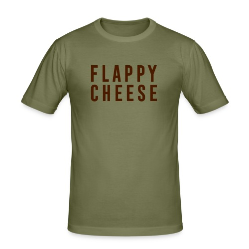 FLAPPY CHEESE - Men's Slim Fit T-Shirt