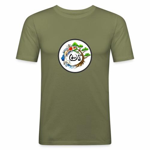 Harmonie im Garten Daniel Pucher Design - Männer Slim Fit T-Shirt