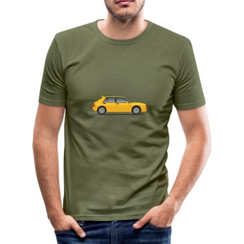 launch of the delta - Men's Slim Fit T-Shirt