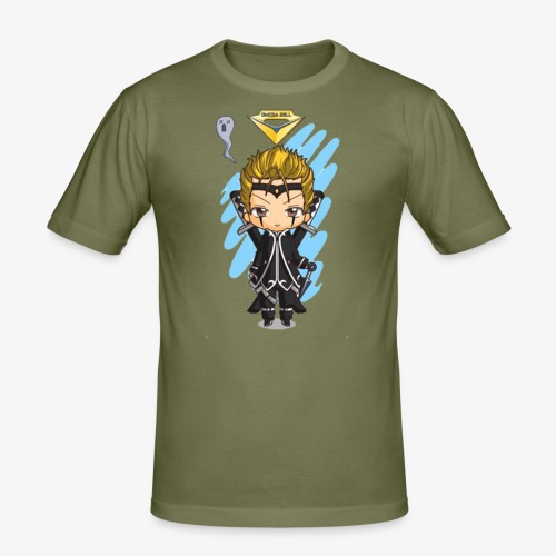 T.shirt Chibi Omega Zell By Calyss - T-shirt près du corps Homme