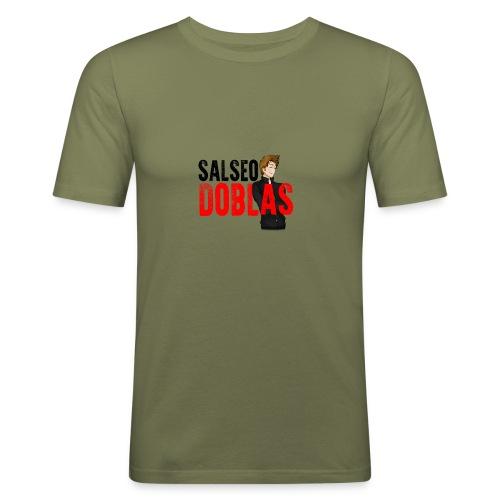 Salseodoblas - Camiseta ajustada hombre