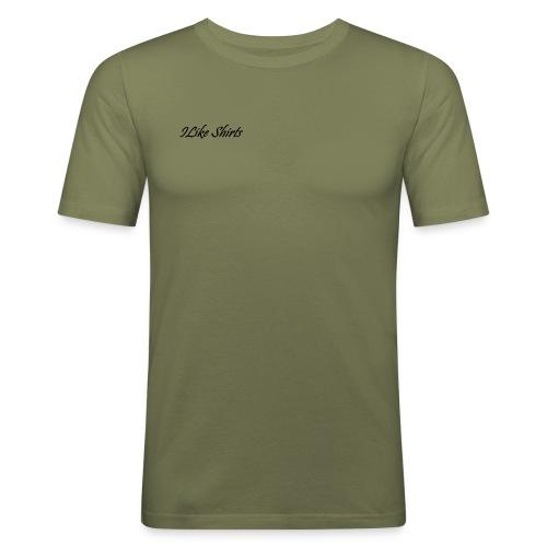 ILike Shirts Basic - Männer Slim Fit T-Shirt