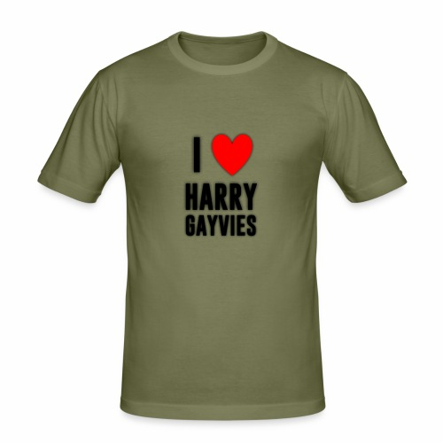I <3 Harry Gayvies - Men's Slim Fit T-Shirt