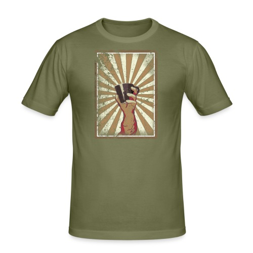 Coffee revolution! - slim fit T-shirt
