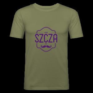 Bydgoszczanin z wąsem - Obcisła koszulka męska
