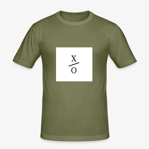 X/0 logo square - Slim Fit T-shirt herr
