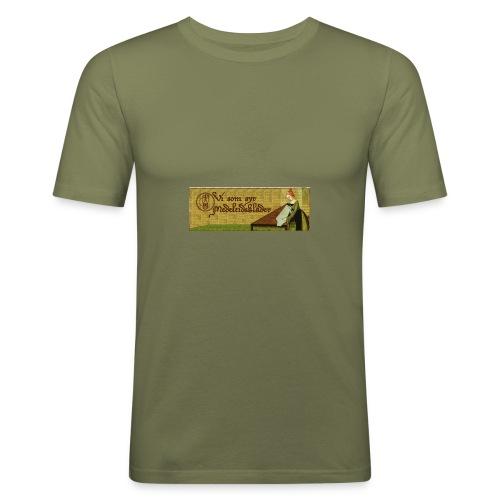 Gruppbild för Vi som syr medeltidskläder - Slim Fit T-shirt herr