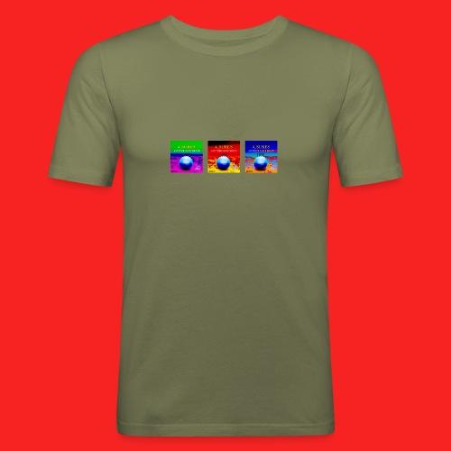 Tripple 4_SURES - Men's Slim Fit T-Shirt