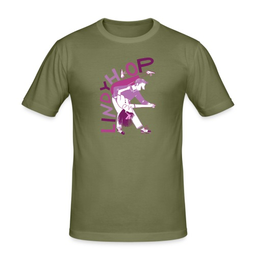 Lindy hop - Men's Slim Fit T-Shirt