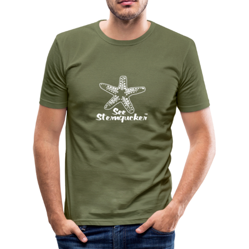 Seesterngucker - Männer Slim Fit T-Shirt