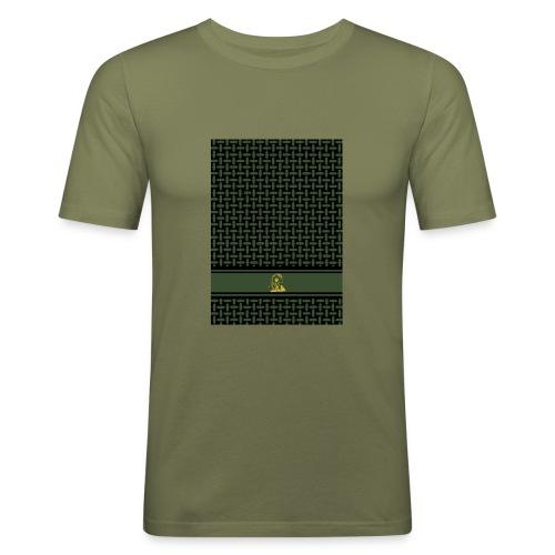 PaliPhone BLACK OLIV - Männer Slim Fit T-Shirt
