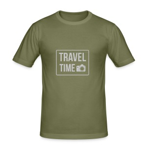 Travel time - Men's Slim Fit T-Shirt