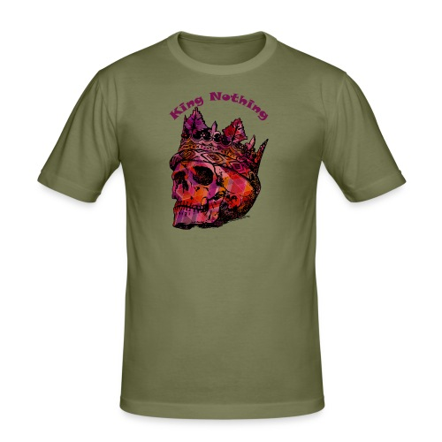 KingNothing - Herre Slim Fit T-Shirt