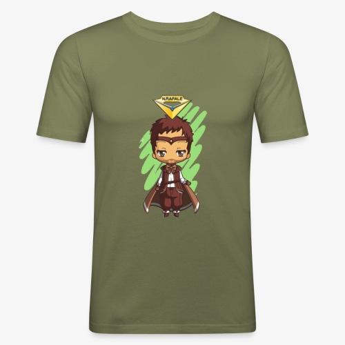 T.Shirt Chibi Rafale by Calyss - T-shirt près du corps Homme