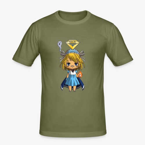 T.Shirt Chibi Oméga Zell Fille By Calyss - T-shirt près du corps Homme