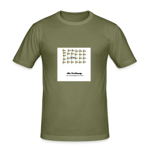 BeTheChange 1 - Men's Slim Fit T-Shirt