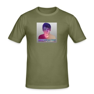 Marcos Vlogs - Herre Slim Fit T-Shirt
