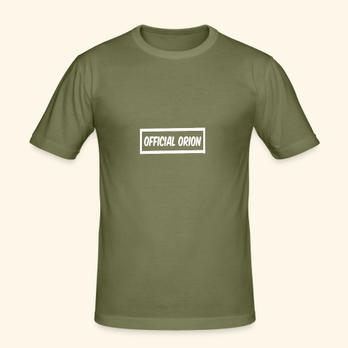 Official Orion Box Logo - Men's Slim Fit T-Shirt