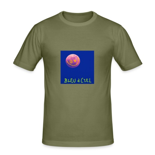 BLEU d CIEL- PINK mOOn collection - T-shirt près du corps Homme