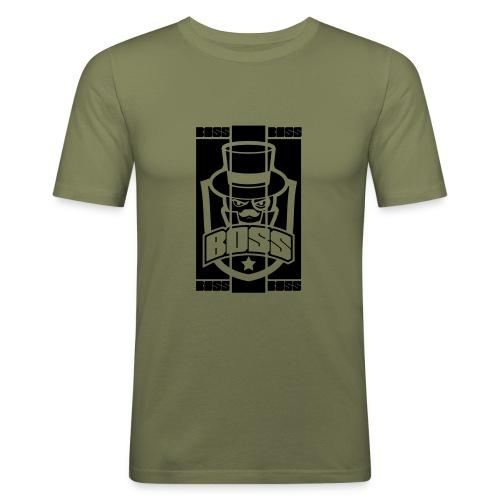 BOSS_BRAND - T-shirt près du corps Homme