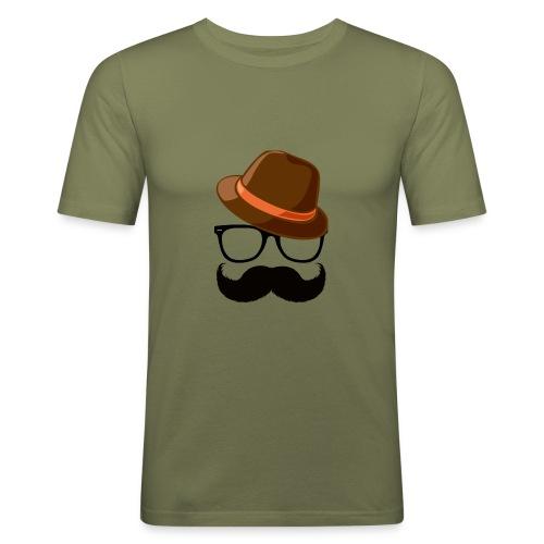 Hipster - T-shirt près du corps Homme