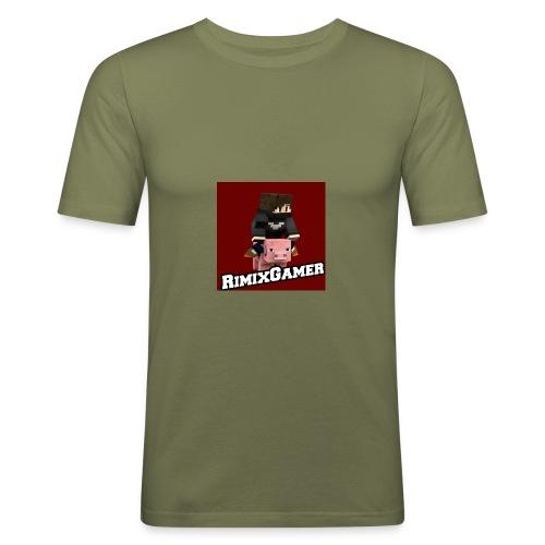 Das Logo von RimixGamer - Männer Slim Fit T-Shirt