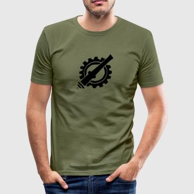 armiere - Maglietta aderente da uomo