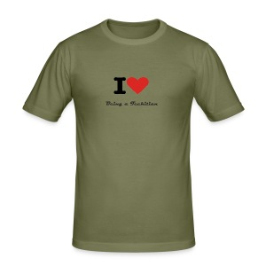 Love Being a Techitian - Men's Slim Fit T-Shirt