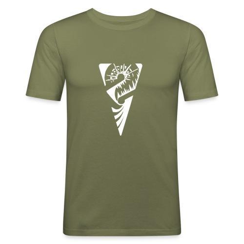logo 1077x651 - Männer Slim Fit T-Shirt