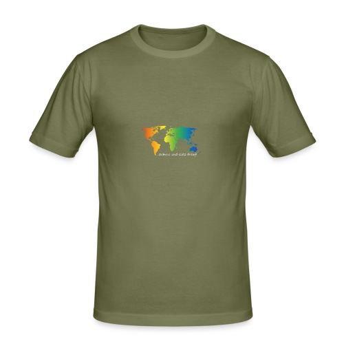 schwul und stolz drauf - Männer Slim Fit T-Shirt