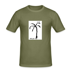 Draw-palm-black- - Slim Fit T-shirt herr