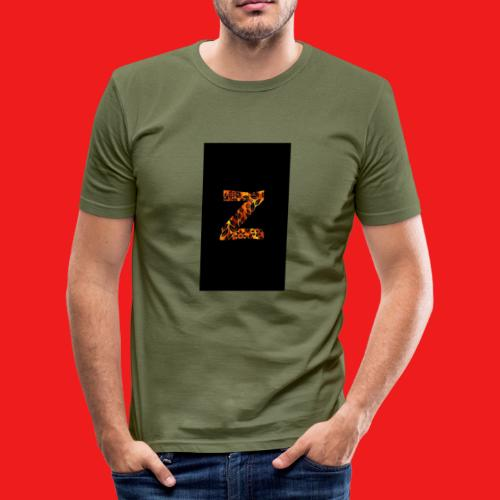Das Z in tiger format - Männer Slim Fit T-Shirt