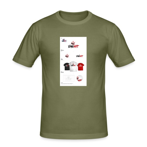 unikat_1 - Obcisła koszulka męska