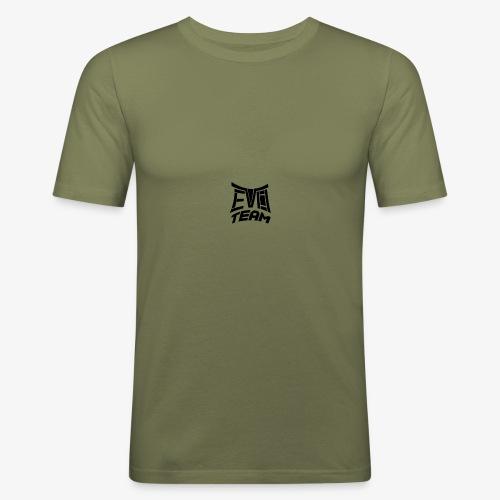 EvoTeam Petit Noir - T-shirt près du corps Homme