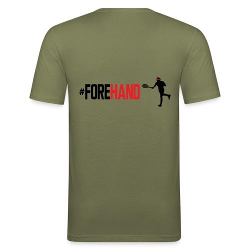 Tennis #Forehand - Maglietta aderente da uomo