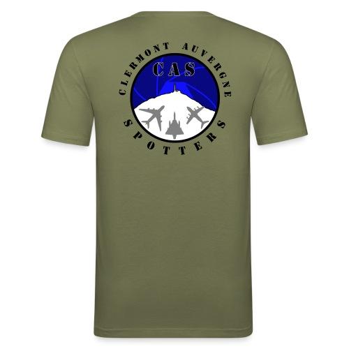 Logo CAS - Tee shirt près du corps Homme