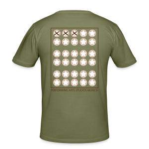 Starcard to go - Männer Slim Fit T-Shirt