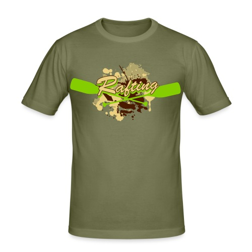 Rafting II - Männer Slim Fit T-Shirt