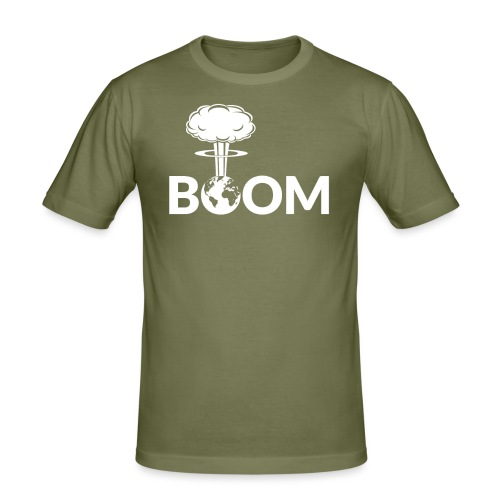 Nuclear - Boom - Men's Slim Fit T-Shirt